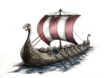 http://www.dreamstime.com/stock-images-viking-ship-3-image8121404
